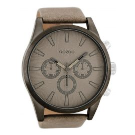 Oozoo C8200 XXL Herrenuhr Beige 50 mm
