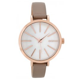 Oozoo C8667 Damenuhr Taupe 38 mm