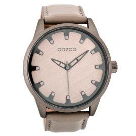 Oozoo C8546 Herrenuhr Sandfarben 49 mm
