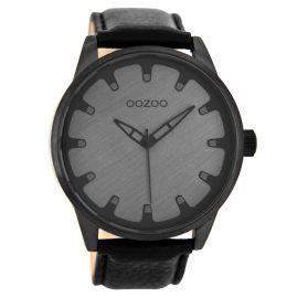 Oozoo C8549 Armbanduhr in Unisexgröße Schwarz 49 mm