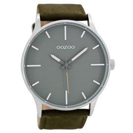 Oozoo C8553 Herrenuhr Grüngrau/Grau 48 mm