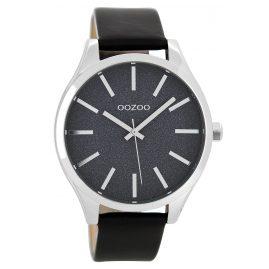 Oozoo C8624 Damenuhr mit Lederband Schwarz 42 mm