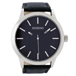 Oozoo C9013 XL Herren-Armbanduhr Dunkelblau 50 mm