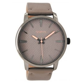Oozoo C9022 Ladies Wrist Watch Taupe 45 mm