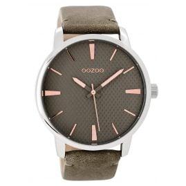 Oozoo C9023 Damenuhr Graugrün/Rosé 45 mm