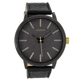 Oozoo C9028 Herrenarmbanduhr Schwarz 50 mm