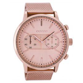 Oozoo C9073 Armbanduhr im Chrono-Look Rosé 49 mm