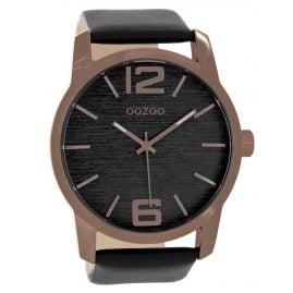 Oozoo C9088 Herren-Armbanduhr Schwarz 48 mm