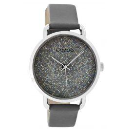 Oozoo C9102 Damen-Armbanduhr Grau 38 mm