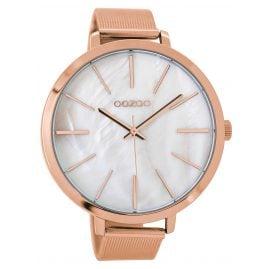 Oozoo C9113 Damen-Armbanduhr Rosé/Perlweiß 48 mm