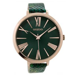 Oozoo C9216 Ladies Watch Rose / Green 48 mm