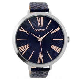 Oozoo C9218 Ladies Wrist Watch Dark Blue 48 mm