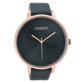 Oozoo C9524 Ladies Watch Tealblue XXL 48 mm
