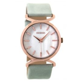 Oozoo C9527 Ladies Watch Greygreen 36 mm