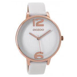 Oozoo C9531 Damenarmbanduhr Weiß 42 mm
