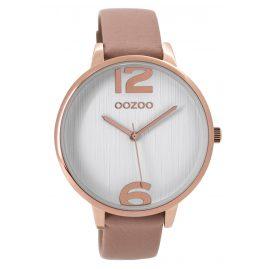 Oozoo C9533 Damenuhr Altrosa/Weiß 42 mm