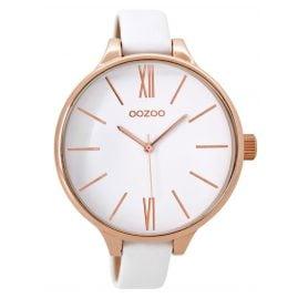 Oozoo C9540 Damenarmbanduhr Weiß XXL 45 mm
