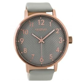 Oozoo C9400 Wrist Watch Rose/Grey XL 48 mm