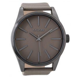 Oozoo C9411 Herrenuhr Grau/Taupe 50 mm