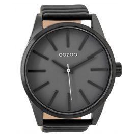Oozoo C9414 Herrenuhr Schwarz/Grau 50 mm