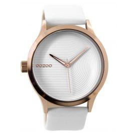 Oozoo C9430 Damenuhr Rosé/Weiß 44 mm
