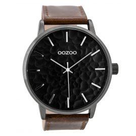 Oozoo C9443 Herrenuhr Braun/Schwarz 48 mm