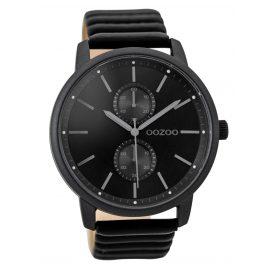 Oozoo C9454 Herrenuhr Schwarz 45 mm