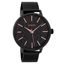 Oozoo C9574 Ladies' Watch with Mesh Band Black 42 mm