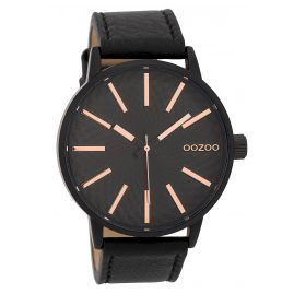 Oozoo C9609 Men's Watch 45 mm Design Dial Black