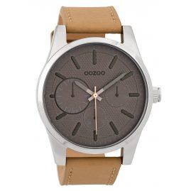 Oozoo C9615 Herren-Armbanduhr 45 mm Grau/Sand