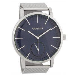 Oozoo C9622 Herren-Armbanduhr 48 mm Blau/Silberfarben