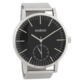 Oozoo C9623 Herrenuhr 48 mm Schwarz/Silberfarben