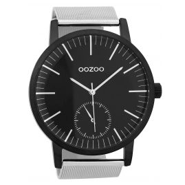Oozoo C9624 Men's Watch 48 mm Black/Silver
