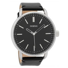 Oozoo C9634 Herren-Armbanduhr 48 mm Schwarz