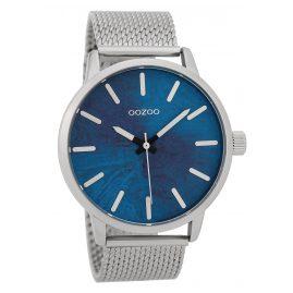 Oozoo C9656 Men's Watch Blue/Silver 45 mm