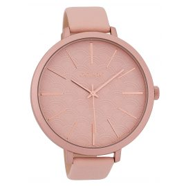 Oozoo C9675 Ladies' Watch Leather Strap 48 mm Powder-Pink