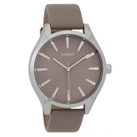 Oozoo C9687 Damenuhr Taupe 43 mm