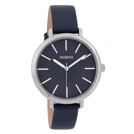 Oozoo C9699 Ladies' Watch with Leather Strap Blue 38 mm