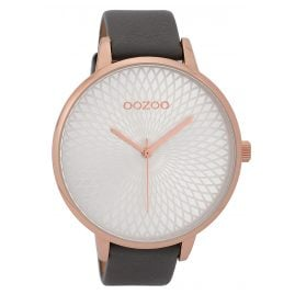 Oozoo C9726 XL Ladies' Watch Grey 48 mm