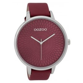 Oozoo C9727 Ladies' Watch Design Dial Claret-Red 48 mm