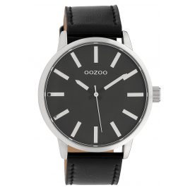 Oozoo C10034 Armbanduhr Schwarz 45 mm