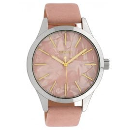 Oozoo C10072 Ladies' Watch Mother-of-Pearl/Rose 45 mm