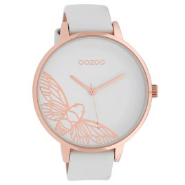 Oozoo C10075 Ladies' Watch Dragonfly White 48 mm