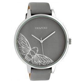 Oozoo C10078 Damenuhr Libelle Grau 48 mm