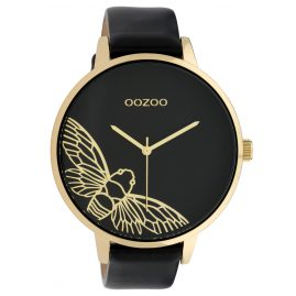 Oozoo C10079 Ladies' Watch Dragonfly Black 48 mm
