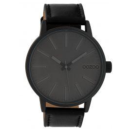 Oozoo C10014 Armbanduhr Grau/Schwarz 45 mm