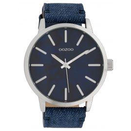 Oozoo C10002 Armbanduhr Dunkelblau/Jeans 45 mm