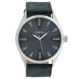 Oozoo C10023 Watch in Unisex Size Blue 45 mm