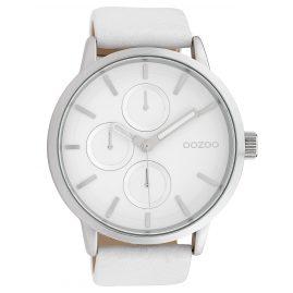 Oozoo C10052 Armbanduhr Weiß 49 mm