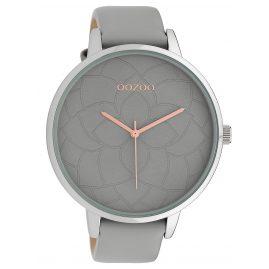 Oozoo C10101 Damen-Armbanduhr Hellgrau 48 mm